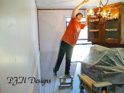 How to remove popcorn ceilings {3/1}