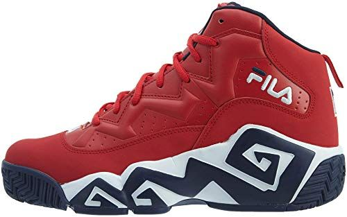 New Fila Men's MB Leather Retro High Top Basketball Trainers