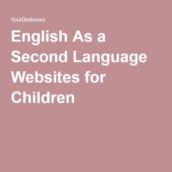 English As A Second Language: English, Language And Student On Pinterest