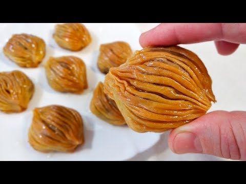 Cox Dadli Midyə Paxlava Resepti Qozlu Paxlavanin Hazirlanmasi Youtube Food Vegetables Garlic