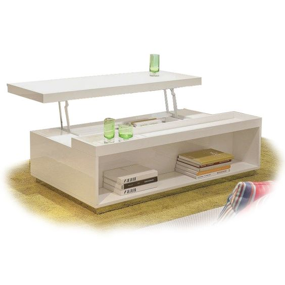 Modern White Transforming Coffee Table Sanda Contemporary Coffee Tables Pinterest Contemporary Coffee Table Lift Top Coffee Table And Contemporary