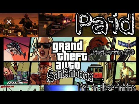 How To Download Gta San Andreas Free In Android 2019 Youtube