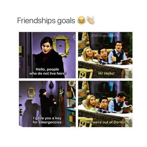 Friends Tv Show Quotes About Friendship Mesmerizing Friendship F.r.i.e.n.d.s And Friends Image  F.r.i.e.n.d.s