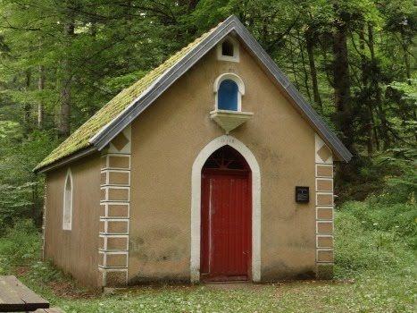 la chapelle ste catherine Rougemont-le-Château. Franche-Comté