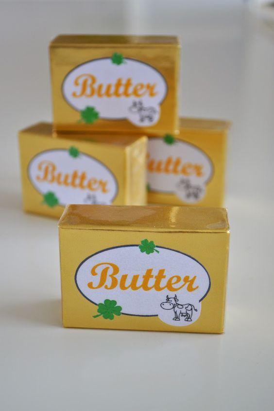 butter f r den kaufladen selbstgemacht kaufladen pinterest butter. Black Bedroom Furniture Sets. Home Design Ideas