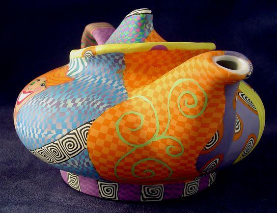 Wanda Shum. Ceramic #teapot.