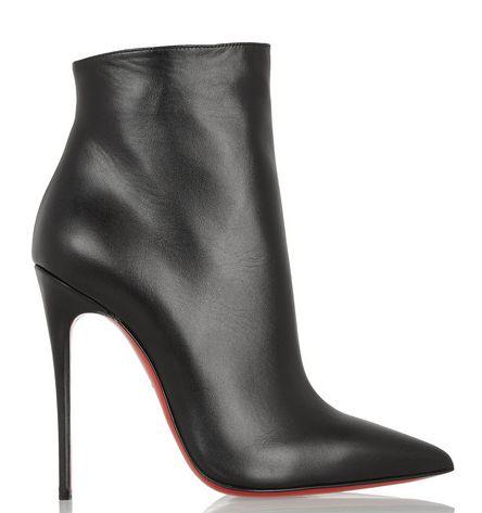christian louboutin jimmynetta 70 fringed leather ankle boots