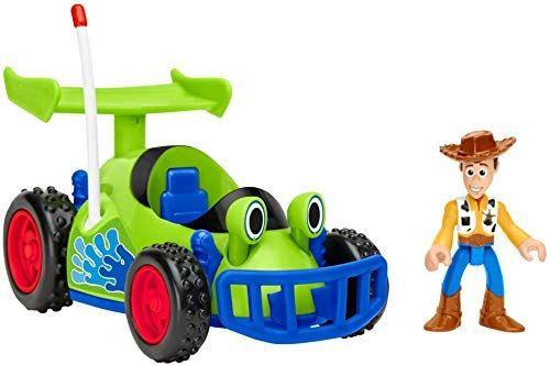Amazon Com Fisher Price Disney Pixar Toy Story 4 Feature R C Woody Toys Games Woody Toy Story Disney Toys Pixar Toys