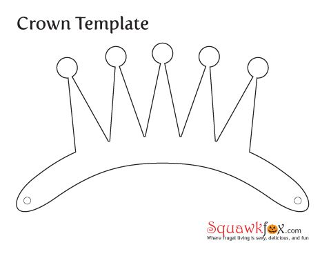 Crown template, Crowns and Queen esther