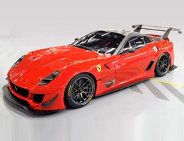 Ferrari 599XX auction: over 1.8 million euro raised for families of earthquake victims