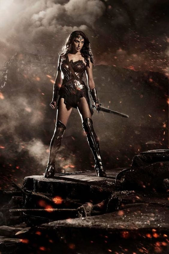Take a look at new Wonder Woman in the upcoming film Batman v Superman: Dawn of Justice