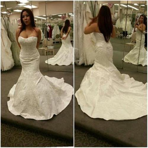 Pinterest the world s catalog of ideas for Wedding dress large bust small waist