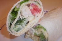 Chicken Tomato Wrap Sandwich
