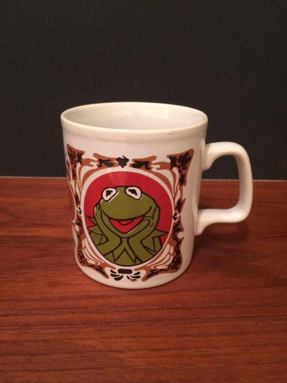 "The Muppet Show ""Kermit"" the frog mug England"