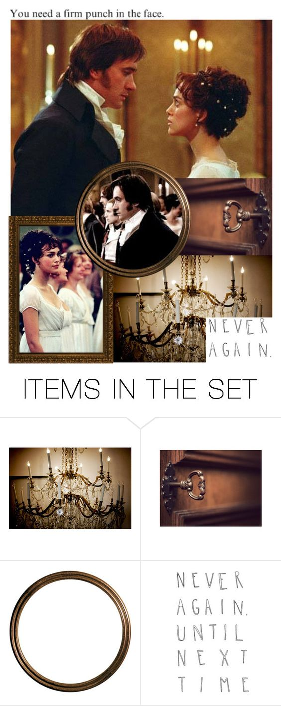 """Elizabeth & Darcy"" by charlizard ❤ liked on Polyvore featuring art and BOTJAH01"