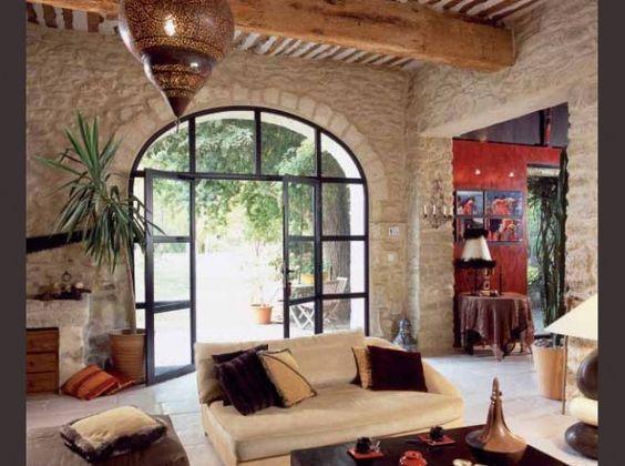 """Résultat de recherche d'images pour """"percer baie vitree dans mur de pierre"""":"""