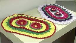 Resultado de imagem para tapetes em croche simone eleoterio