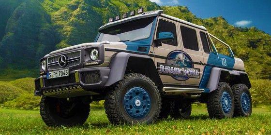 Badass Vehicles of Jurassic World