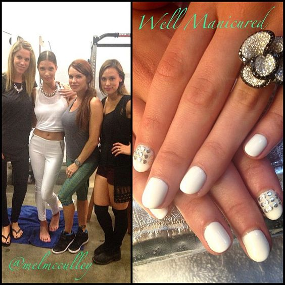 Stud trend inspired gel mani created for the upcoming FALL issue of SouthBay Magazine @Our South Bay. It's always a pleasure to be  part of this awesome publication that's right here in my own neighborhood! Thanks Darren! COLORS USED: Arctic Freeze