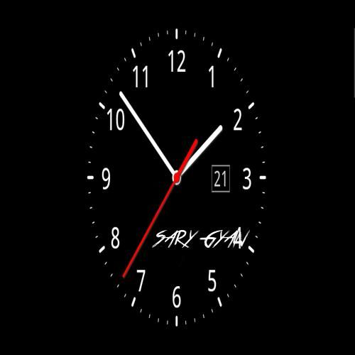 Write Your Name On Black Clock Pictures Free Live Wallpapers Clock Clock Wallpaper