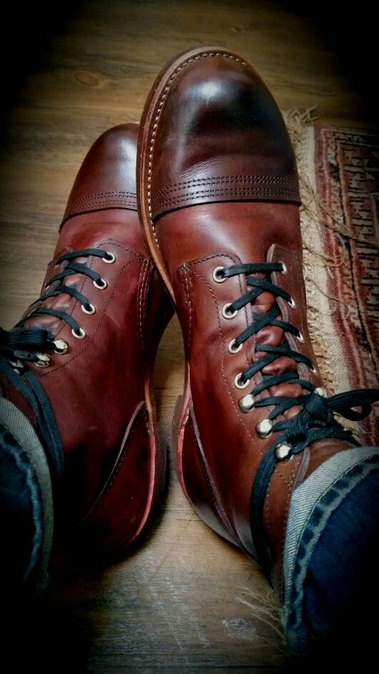 Red Wing Iron Rangers Amber Harness