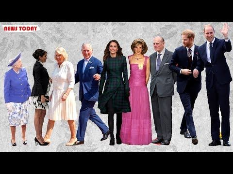 How Tall Are The Royal Family Kate Meghan Harry Even Queen S Height Revealed Youtube Kate Middleton Height Royal Family Royal