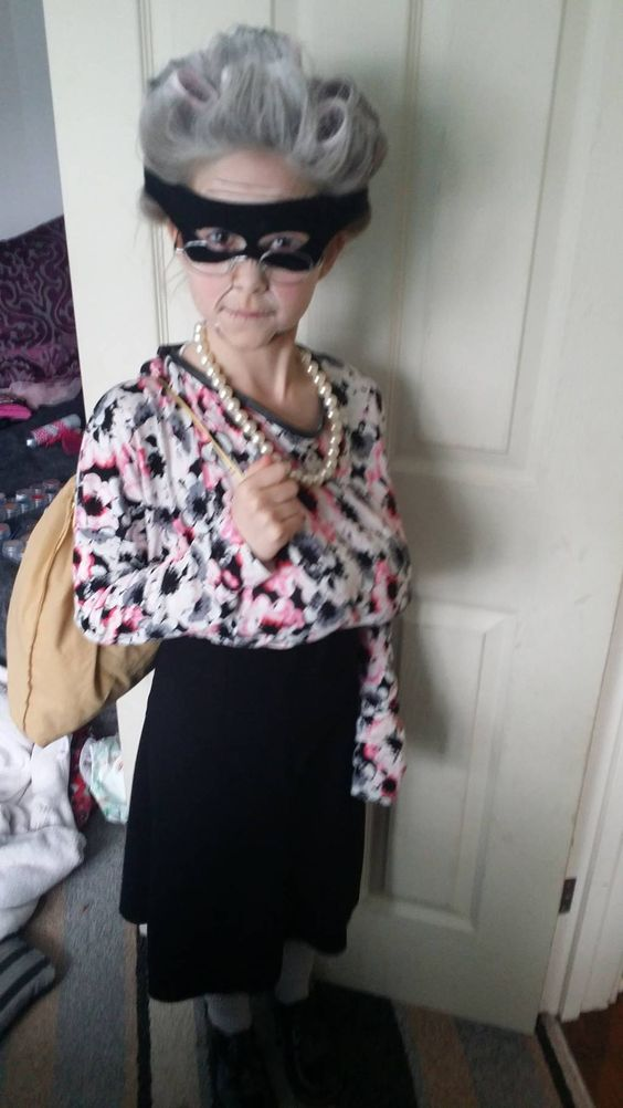Gangsta Granny from David Walliams' book
