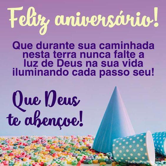 Feliz aniversário, Que Deus abençoe