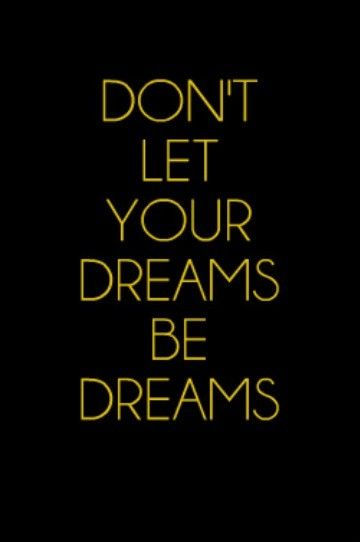Don't let your dreams be dreams #Travel #Quote