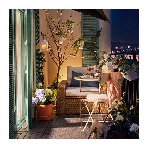 Saltholmen Table Outdoor Foldable Beige 25 5 8 Balcony