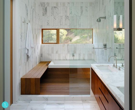 Eye Candy: 12 Modern Wooden Bathrooms