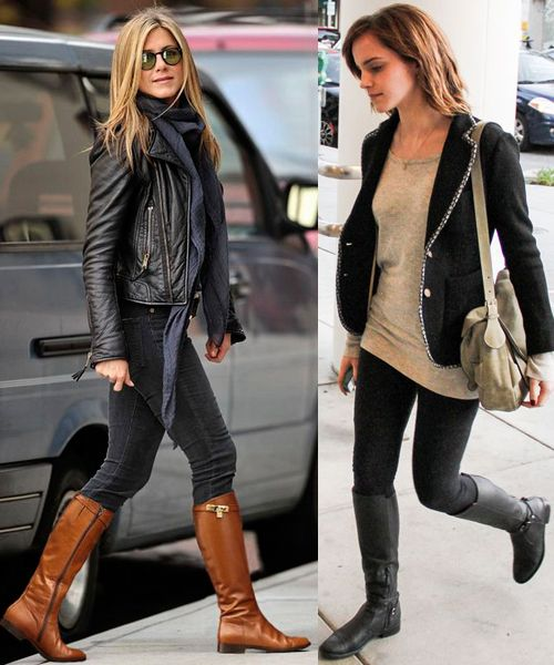 Riding boot outfits, Tall boots outfit