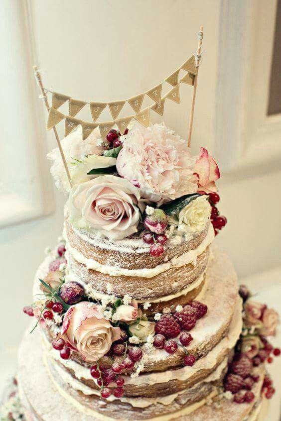 Naked Cake Cakes Pinterest Hochzeit Mascarpone Und Kuchen