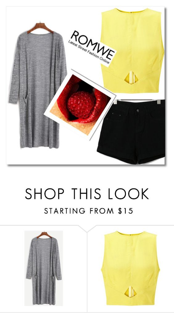 """romwe"" by mikica-kiki ❤ liked on Polyvore featuring Miss Selfridge"