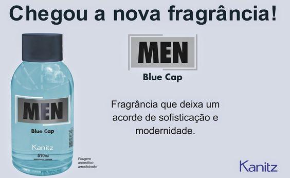 Kanitz: Men - Blue Cap - Lançamento Kanitz
