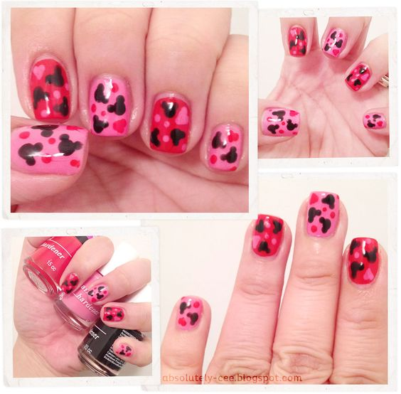 3d miney mouse nail art  | Absolutely Cee: Oh Mickey You're So Fine!