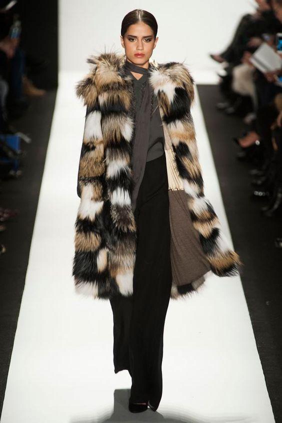 Dennis Basso NYFW AW15 moda fashion modafemenina