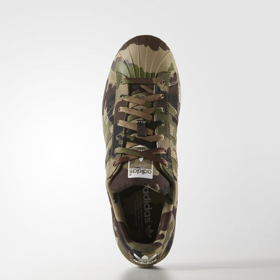super star sneakers camo