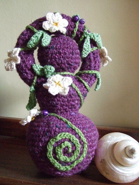 Crochet Goddess Doll Free pattern #wiccan #wicca #pagan # ...