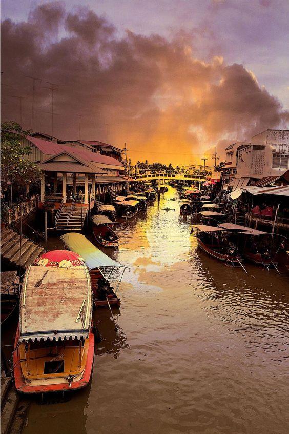[Chia sẻ] Du lịch chợ nổi Amphawa, Bangkok, Thái Lan
