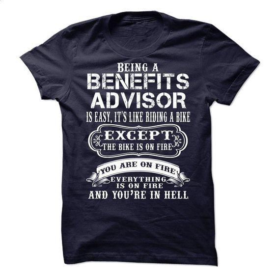 BENEFITS ADVISOR T Shirts, Hoodies, Sweatshirts - #fleece hoodie #womens sweatshirts. ORDER NOW => https://www.sunfrog.com/No-Category/BENEFITS-ADVISOR-64342633-Guys.html?id=60505