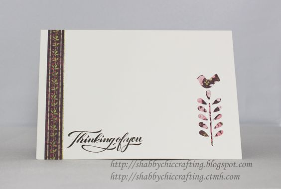 Close to My Heart CTMH Ivy Lane Pop Up Sympathy Card using Cricut Artfully Sent