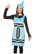 Tween Sky Blue Crayon Dress