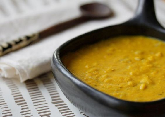 Yummy Supper: Dal with Golden Lentils and Coconut Milk