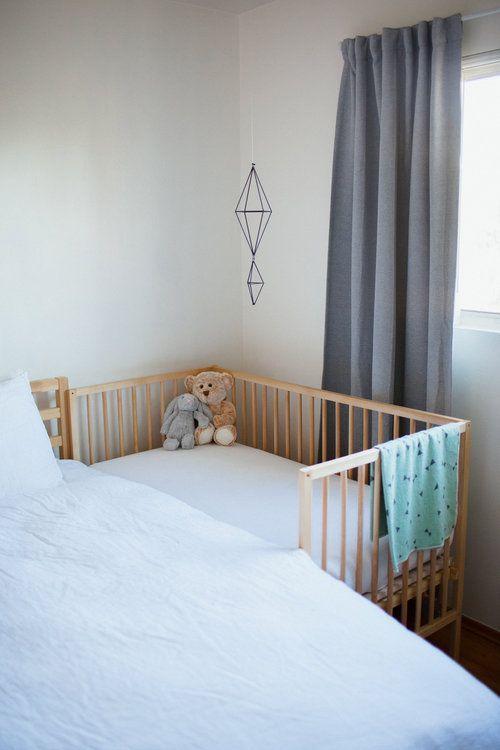 Sharing A Bedroom With Baby At 6 Months Diy Ikea Sniglar Crib Co Sleeper Baby Crib Diy Ikea Sniglar Crib Diy Crib
