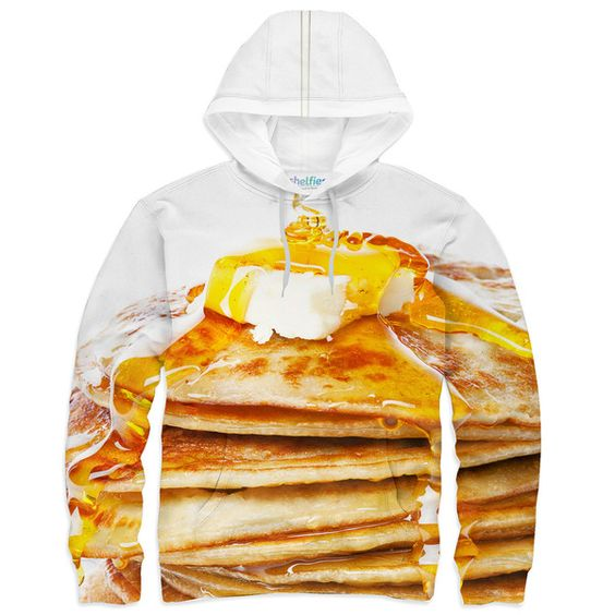 Pancake Hoodie – Shelfies - Outrageous Clothing