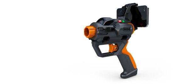 ZOMG!!! Bolt on laser tag gun for iPhone/Android phones.  Who's buying this with me and meeting up in NYC for a massive game of laser tag?