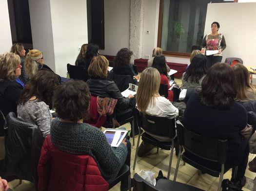 """Jornada Formativa """"L'Impacte de gènere en la Reforma  de les Pensions""""Carolina Gala, Professora Titular de Dret del Treball i de la Seguretat Social a la UAB 15 gener 2015"""