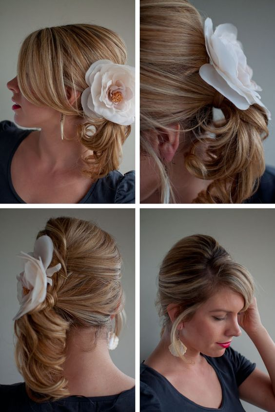 love this! if my hair is long enough, this may be an option...