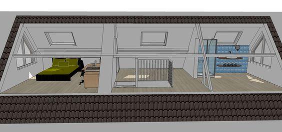 Indeling Slaapkamer : ... nieuwe indeling zolder slaapkamer # ...
